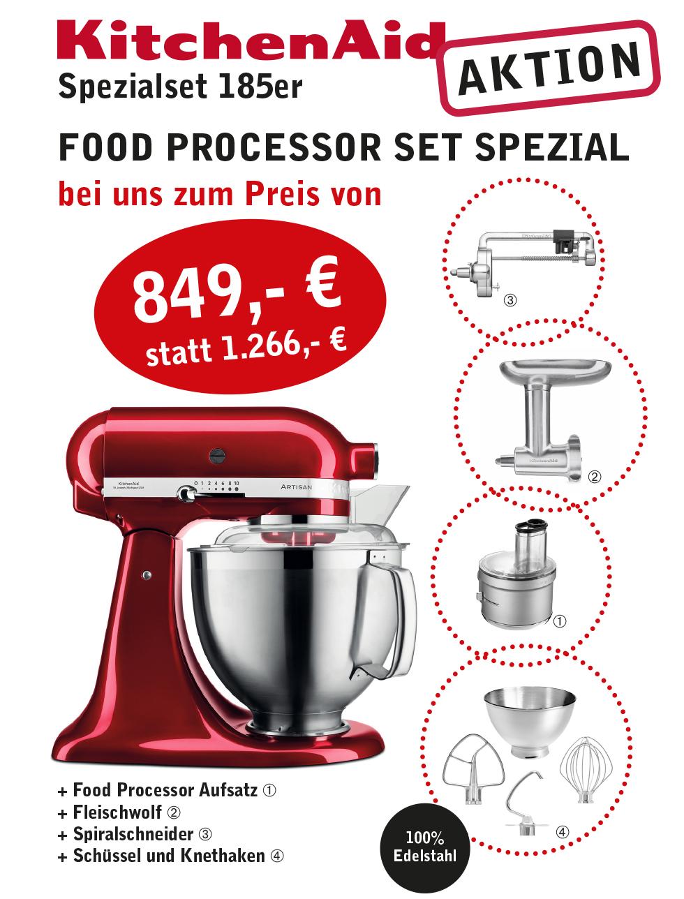 food Processor Set Spezial